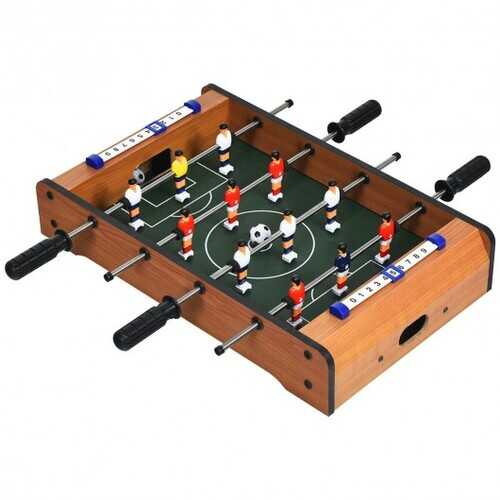 "20"" Foosball Table Mini Tabletop Soccer Game"