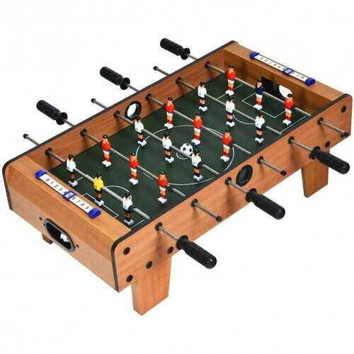 "27"" Foosball Table Mini Tabletop Soccer Game"