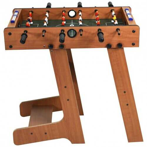 "27"" Indoor Folding Christmas Gift Foosball Table"