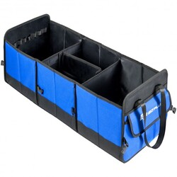Car Trunk Organizer Collapsible Multi-Compartments Cargo Storage Container