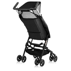 Buggy Portable Pocket Compact Lightweight Stroller Easy Handling Folding Travel -Black