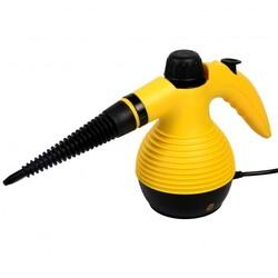 1050W Multi-Purpose Handheld Pressurized Steam Cleaner-Yellow