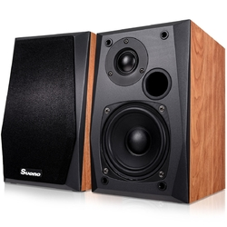 "Wall-mount Professional Passive Bookshelf Speakers w/ 4"" Woofer"