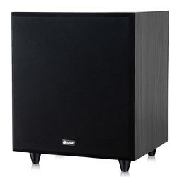 """10"""" 400W Powered Active Subwoofer with Front-Firing Woofer"""
