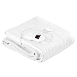 Safe Electric Heated Mattress Pad with 4 Size 8 Temperature 10-Hour Timer-Twin size