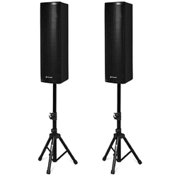 2000W Set of 2 Bi-Amplified Bluetooth Speakers