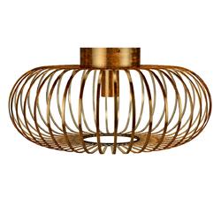Category: Dropship Lighting Accessories, SKU #EP24443US, Title: Antique Brass Metal Flush Mount Ceiling Pendant Light