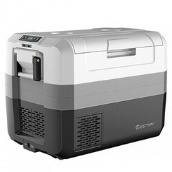 Category: Dropship Coolers, SKU #EP24448US, Title: 58 Quart Portable Electric Camping Car Cooler