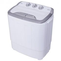 8 lbs Compact Mini Twin Tub Spinner Washing Machine