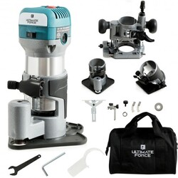 1.25HP Palm Router Electric Trimmer Kit Variable Woodworking Tool