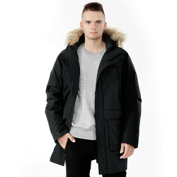 Men's Hooded Insulated Winter Puffer Parka Coat