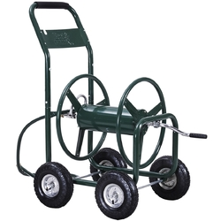 350 ft Garden Yard Water Planting Hose Reel Cart