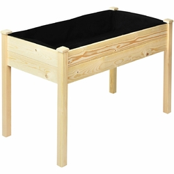 Category: Dropship Pots & Planters, SKU #GT3422, Title: Wooden Raised Vegetable Garden Elevated Grow Vegetable Planter