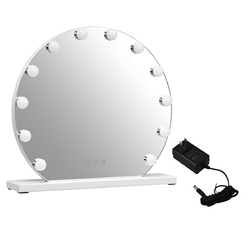 Category: Dropship Mirrors, SKU #HB86770, Title: 12 bulbs Modes Touch Screen Dimming Hollywood Style Makeup Vanity Mirror