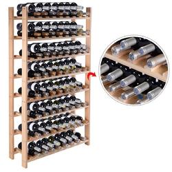 Wooden Bottle Rack Wine Holder for 8 / 12 / 24 / 28 / 40 / 44 / 72 / 120 Bottles