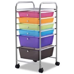 6 Drawers Rolling Storage Cart Organizer