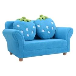 BL/PI Kids Strawberry Armrest Chair Sofa