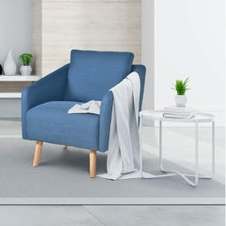 Accent Leisure Chair Fabric Upholstered Arm Chair
