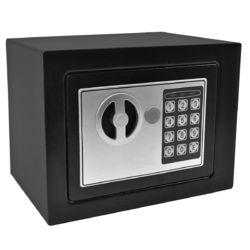 Black Small Digital Electronic Safe Box