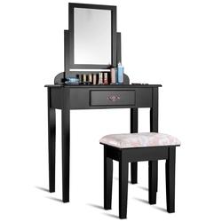 Makeup Desk Vanity Dressing Table Set