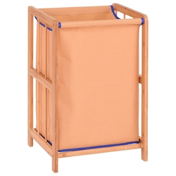 Bamboo Frame Durable Clothes Storage Laundry Hamper