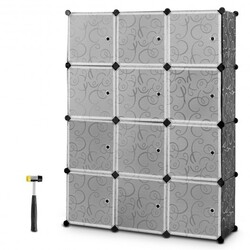 Category: Dropship Closet Organizers & Garment Racks, SKU #HW58560, Title: DIY 12 Cube Portable Closet Storage Organizer