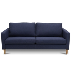 Category: Dropship Sofas, SKU #HW59396color, Title: Upholstered Modern Fabric Love Seat Sofa
