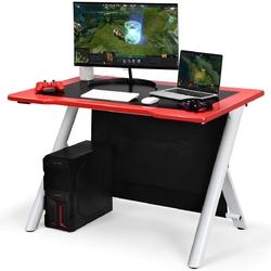 E-Sports Ergonomic Gaming Desk Gamers Computer Writing Table