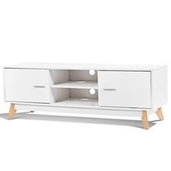 Category: Dropship Entertainment Centers & Tv Stands, SKU #HW60413, Title: Entertainment Center Console Cabinet TV Stand with 2 Doors