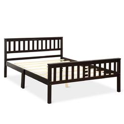 Wood Bed Frame Wood Slats Support Platform Full Size