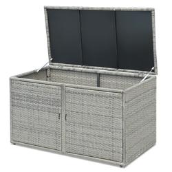 Category: Dropship Storage, SKU #HW62862, Title: 88 Gallon Garden Patio Rattan Storage Container Box