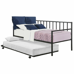 Twin Size Daybed and Trundle Frame Set Trundle Bed