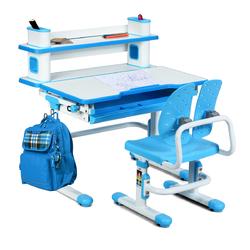 Category: Dropship Baby & Toddler Furniture Sets, SKU #HW63286, Title: Height Adjustable Kids Desk and Chair Set