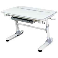 Category: Dropship Desks, SKU #HW63310+, Title: Height Adjustable Kids Desk with Tilting Desktop and Drawer