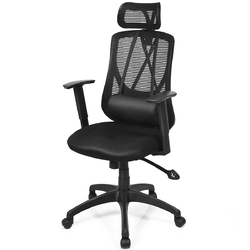 Category: Dropship Office Chairs, SKU #HW63656, Title: Recliner Adjustable Mid Back with Massage Mesh Office Chair