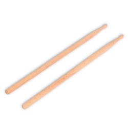 1 Pair 2B Maple Wood Drum Sticks with Bag