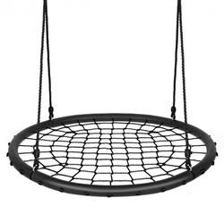 40'' Spider Web Tree Swing Set-Black - Color: Black