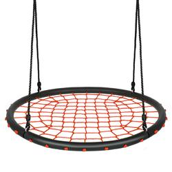 40'' Spider Web Tree Swing Set-Orange - Color: Orange