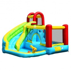 Category: Dropship Toys And Games, SKU #OP70410, Title: Inflatable Kids Water Slide Jumper Bounce House Without Blower