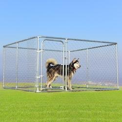 Category: Dropship Pet Supplies, SKU #PS7047+, Title: 7.5' x 7.5' Pet Dog Run House Kennel