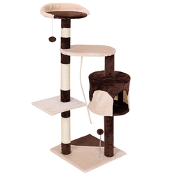 """43"""" Cat Tree Kitten Activity Tower with Scratching Posts"""