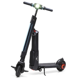Category: Dropship Riding Scooters, SKU #SP0563, Title: LED Bluetooth Folding Electric Scooter with Removable Seat