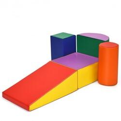 Crawl Climb Foam Shapes Playset Softzone Toy