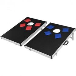 Foldable Bean Bag Toss Cornhole Game Set