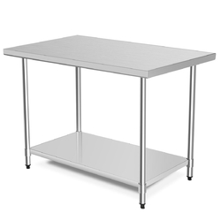 "30"" x 48"" Stainless Steel Table Commercial Kitchen Worktable"