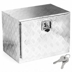 "24"" Aluminum Truck Trailer Pickup Storage Underbody Tool Box"