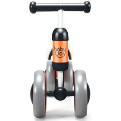 4 Wheels No-Pedal Baby Balance Bike-Orange