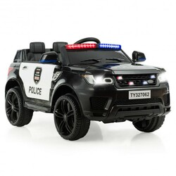 Kids 12 V Battery Powered Electric Ride on Car-Black - Color: Black