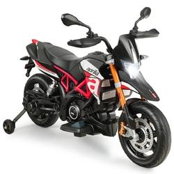 Aprilia Licensed 12V Kids Ride-On Motorcycle-Red - Color: Red