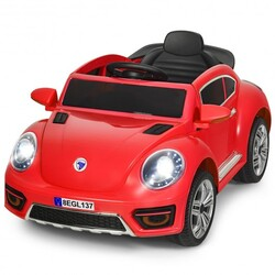 Kids Electric Ride On Car Battery Powered -Red - Color: Red